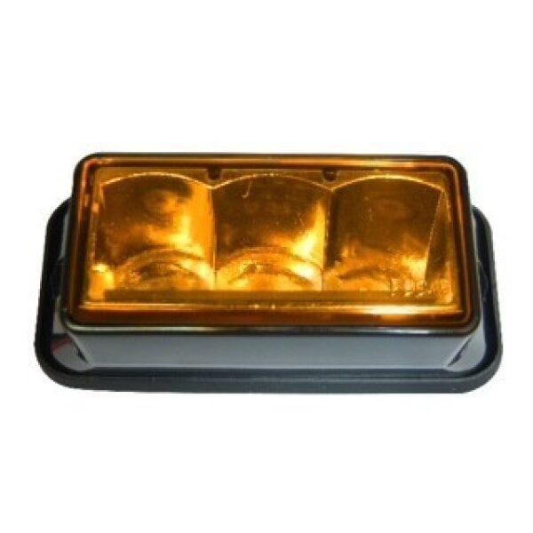 led flitslamp oranje blanke lens 10-30V-0