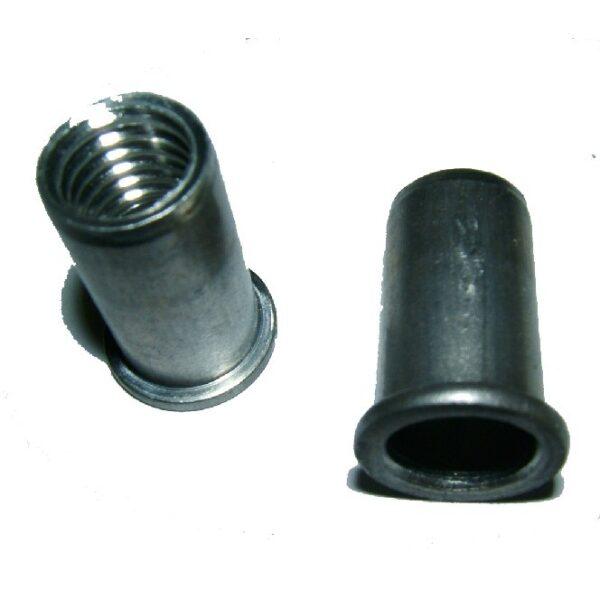 blindklinkmoeren M10x12x20.5 aluminium-0