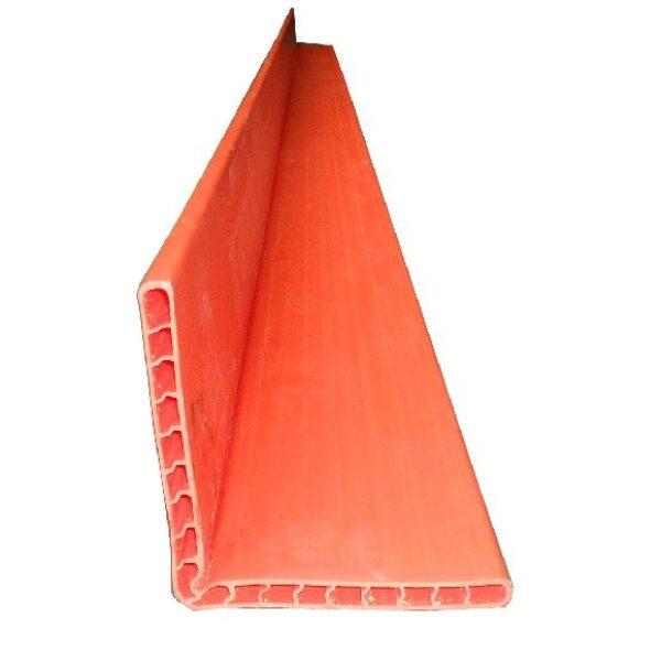 beschermhoek spanband kunstof oranje 1.20 mtr.-0