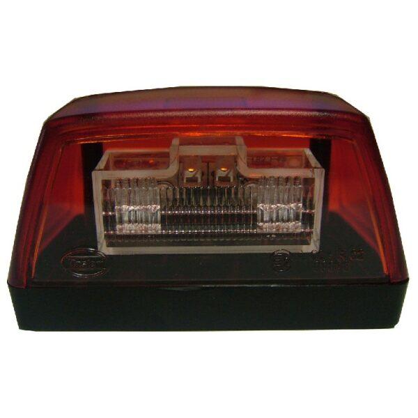led kentekenverlichting dasteri rood 24V-0
