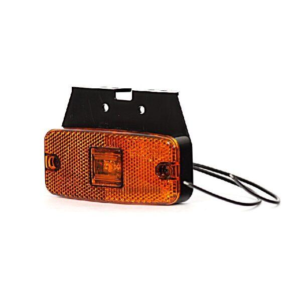 led zijmarkeringslamp oranje 10-30V -0