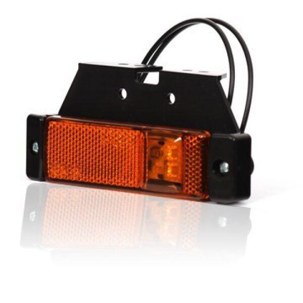 led zijmarkeringslamp incl. steun 12/24V-0