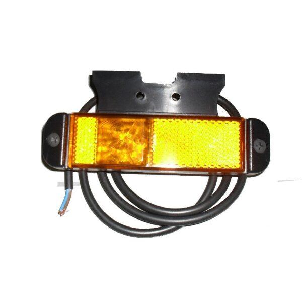 led zijmarkeringslamp met beugel 12/24V-0