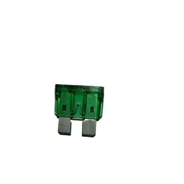steekzekering 30A groen / prijs/verpakt per 100 stuks-0