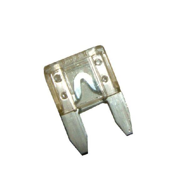 steekzekering mini 25A transparant / prijs/verpakt per 50 stuks-0