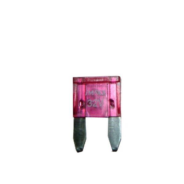steekzekering mini 3A violet / prijs/verpakt 50 stuks-0