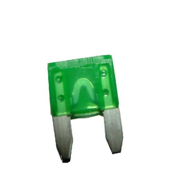 steekzekering mini 30A groen / prijs/verpakt per 50 stuks-0