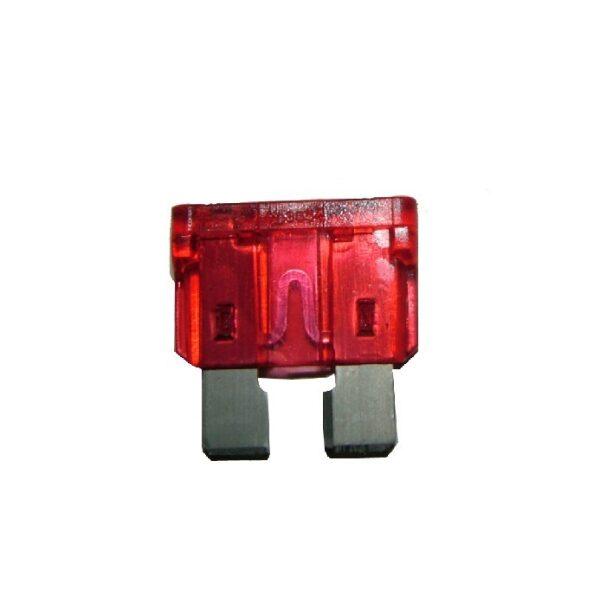 steekzekering 10A rood / prijs/verpakt per 100 stuks-0