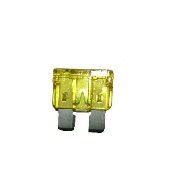 steekzekering 20A geel / prijs/verpakt per 100 stuks-0