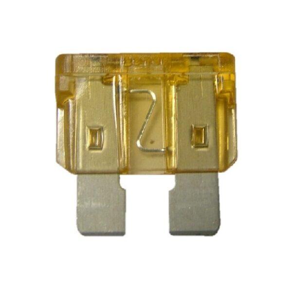 steekzekering 5A geel / prijs/verpakt per 100 stuks-0
