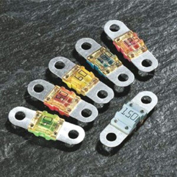 plaatzekering BF1 32V 100A blauw / prijs/verpakt per 10 stuks-0