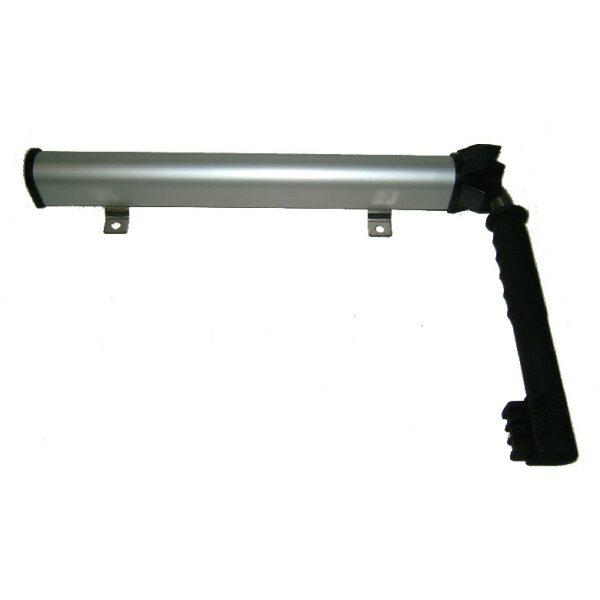 deurvastzetter rvs in aluminium koker-0