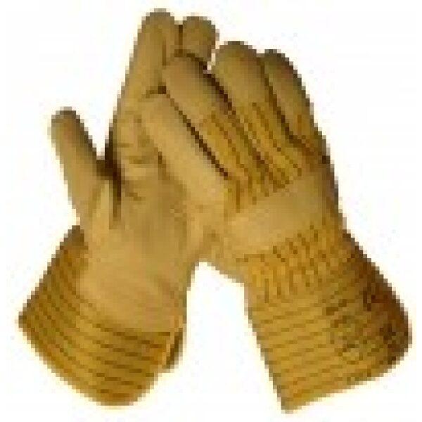 werkhandschoen meubelleer maat 11 / prijs/verpakt per 12 paar-0