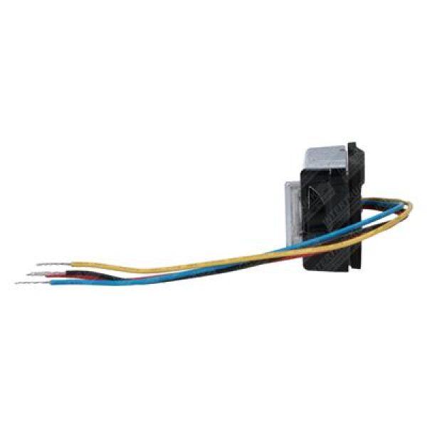 led flitslamp 4 leds 12/24V oranje E4-7688