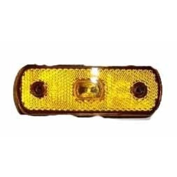 led zijmarkeringslamp oranje 12/24V-0