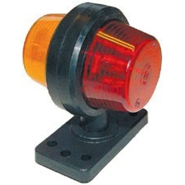 Gylle led breedtelamp 24V kort oranje/rood-0