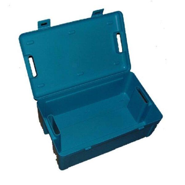 ADR koffer leeg / box blauw t.b.v. gevaarlijke stoffen-0