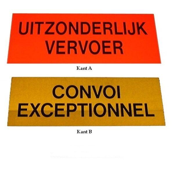 bord convoi excep./uitz. verv. 700x300mm-0