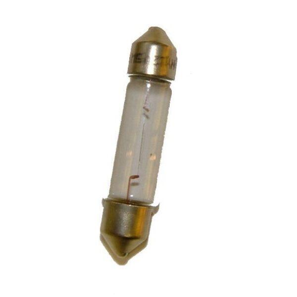 lamp buis 12V 5W lang SV8.5-8 lengte: 44mm / prijs per 10 stuks-0