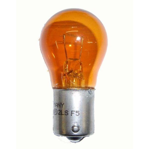 lamp 12V 21W Amber BA15S / prijs per 10 stuks-0