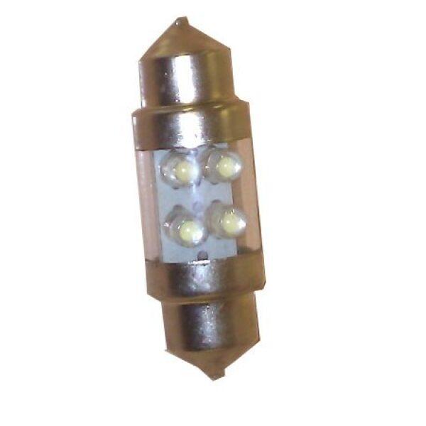 led lamp buislamp wit kort 10-32V 4 leds lengte: 31mm-0