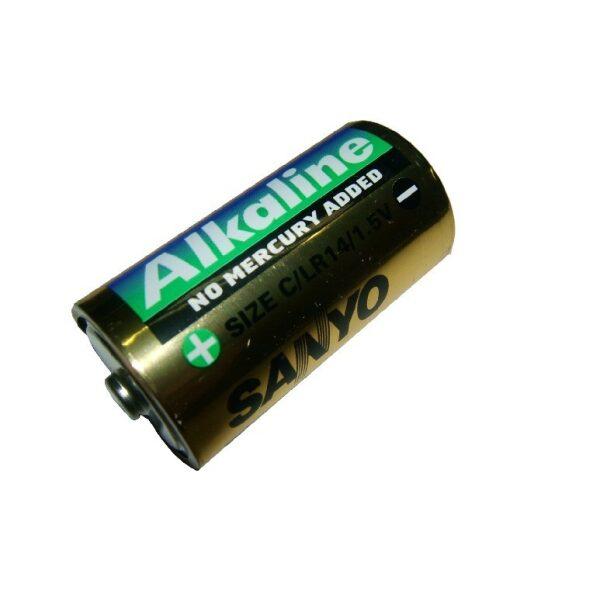 batterij R 14 size C 1,5V-0
