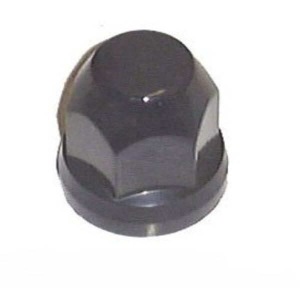 beschermdop/wielmoerdop kunststof t.b.v. wielmoer zwart 32mm / prijs/verpakt per 20st-0