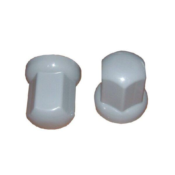 beschermdop/wielmoerdop kunststof t.b.v. wielmoer grijs 32mm-lengte 51mm/ prijs/verpakt per 20st -0