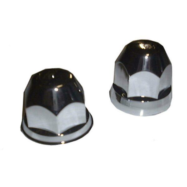 beschermdop/wielmoerdop kunststof t.b.v. wielmoer chroom 32mm Prijs/verpakt per 20st-0