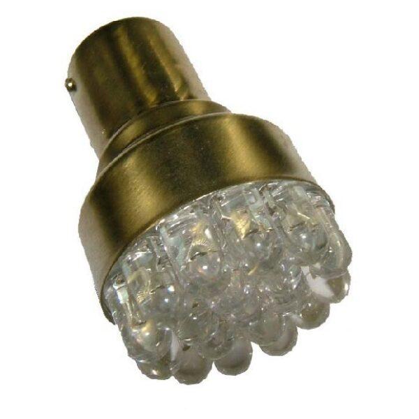 led lamp BA15S rood 10-32V 12 leds-0