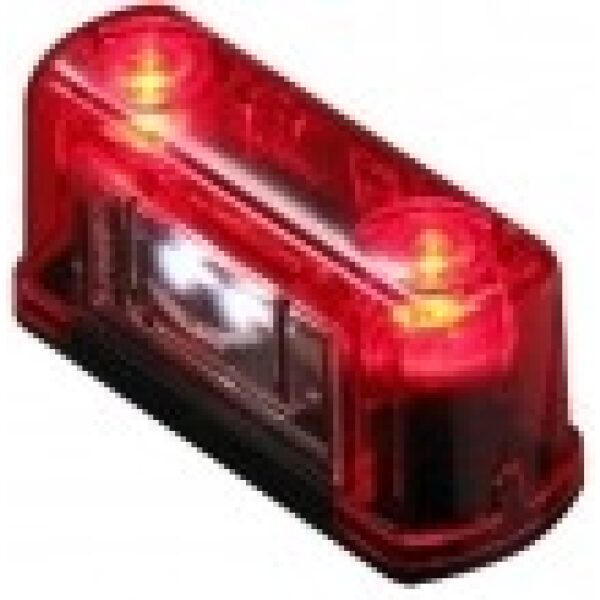 led kentekenverlichting rood 12/24V-0