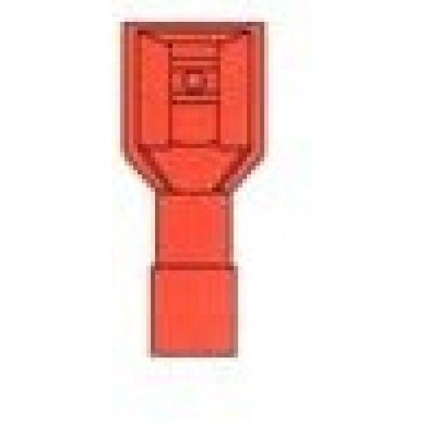 AMP stekker/kabelschoen 1541 geïsoleerd/ verpakt per 100 stuks -0