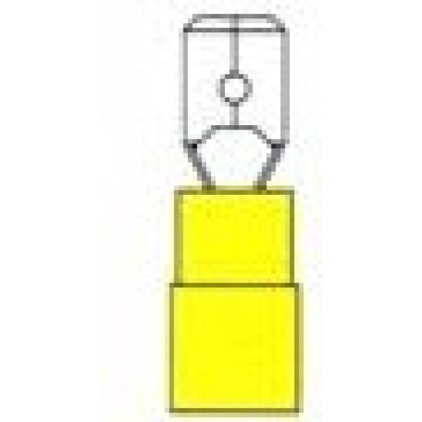 AMP stekker/kabelschoen 840 / verpakt per 100 stuks -0