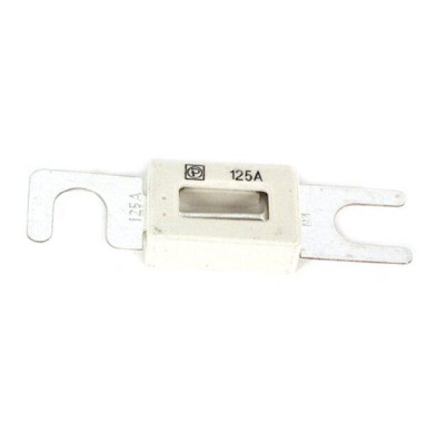 plaatzekering met isolatiehuis 80V 62mm 125A/ prijs/verpakt per 10 stuks-0
