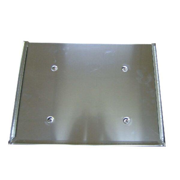 ADR bord houder/slede RVS 400X300MM-0