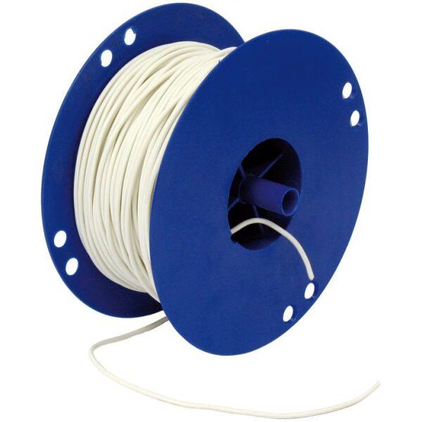 autokabel 2,5 mm² wit / per 100mtr-0