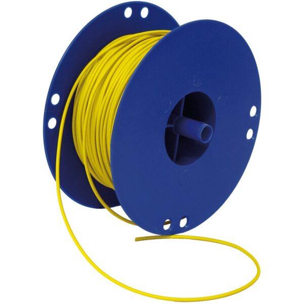 autokabel 2,5 mm² geel / per 100mtr-0