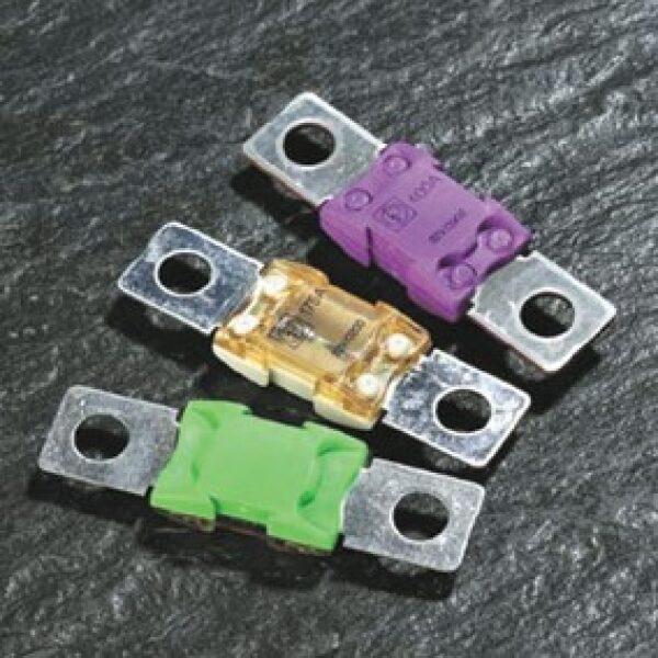 plaatzekering BF2 32V 100A geel / prijs/verpakt per 10 stuks-0
