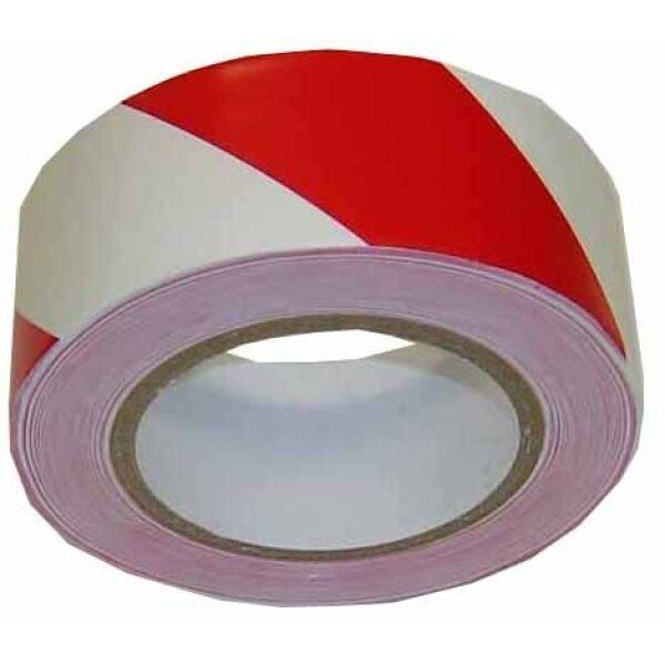 veiligheidstape rood/wit 50mmx11,5m-0