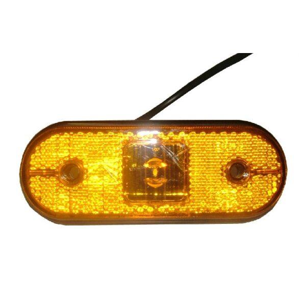 led zijmarkeringslamp Aspöck Unipoint 12/24V-0