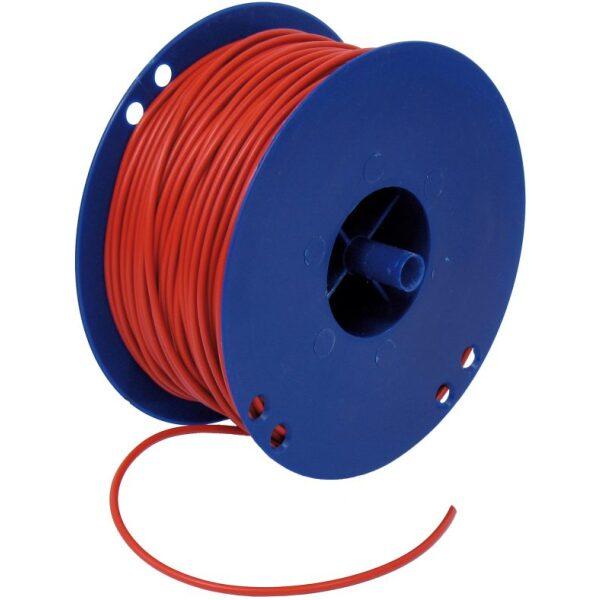 autokabel 2,5 mm² rood / per 100mtr-0