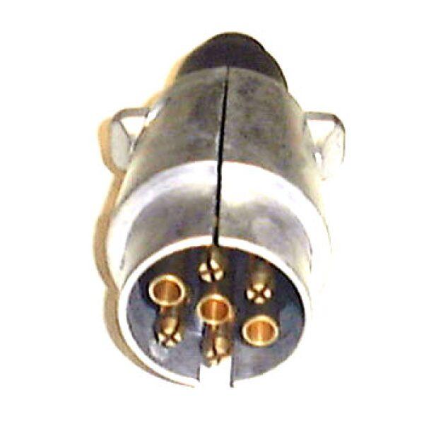 stekker 7-polig aluminium-0