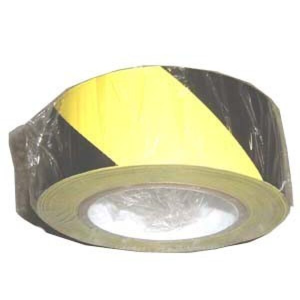 veiligheidstape geel/zwart 50mmx11,5m-0