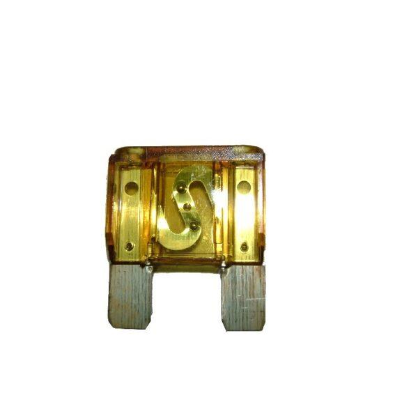 steekzekering maxi 20A geel / prijs/verpakt per 10 stuks-0