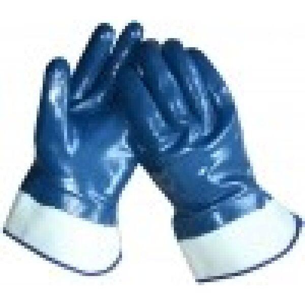 werkhandschoen geplastificeerd maat 11 / prijs/verpakt per 12 paar-0