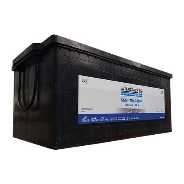 accu 12V 230AH Semi Tractie lxbxh 518x276x242mm / prijs incl. loodbijdrage-0