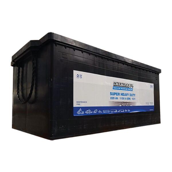 accu 12V 225AH Super Heavy Duty afm.: 518x276x242mm / prijs incl. loodbijdrage-0