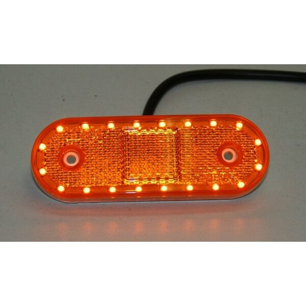 led toplamp oranje 12/24V-4048
