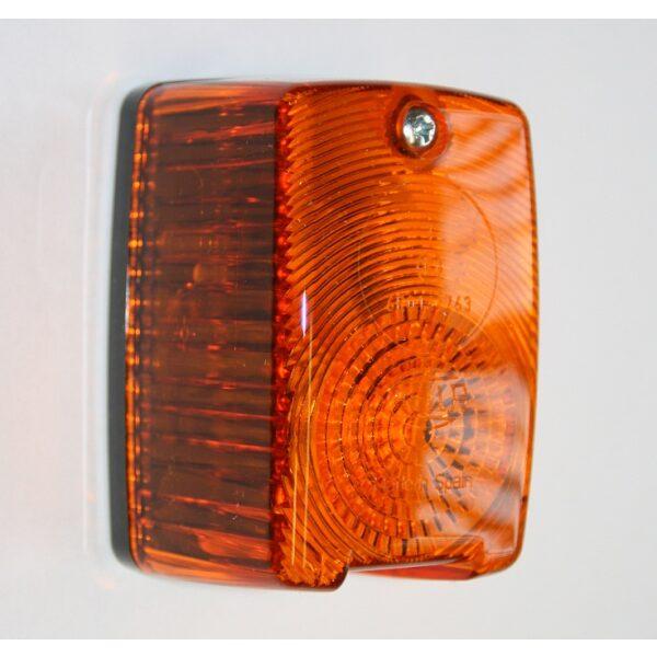 knipperlamp / lens oranje opbouwmodel -0