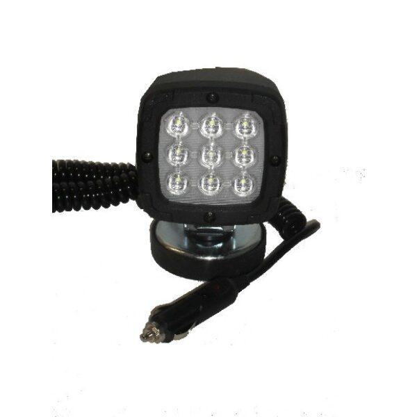 werklamp led 9 leds incl. magneetvoet 1300 lumen-0